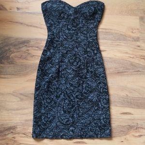 Mystic strapless lace bodycon dress!
